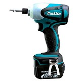 MAKITA Cordless Li-Ion Impact Driver with LED [BTD130FRFE] - Bor Mesin